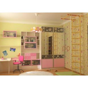 Шкаф-купе для детской комнаты Petal
